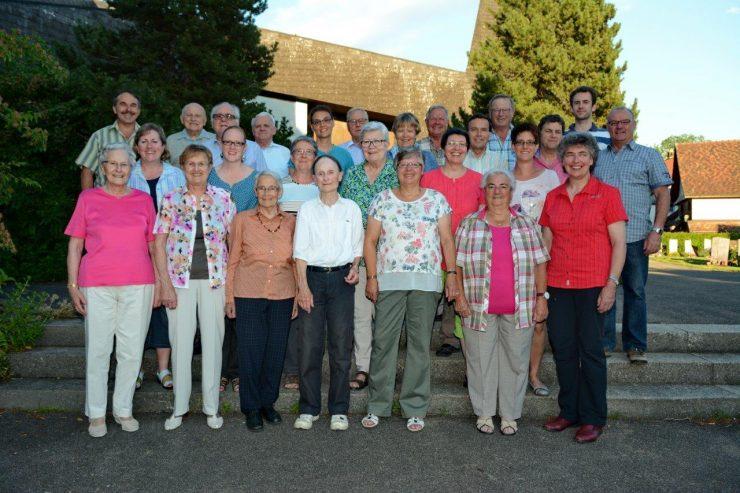 Foto Kirchenchor Hüttwilen-Herdern Juli 2016