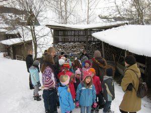 Dorfweihnachten mit Sonntagsschülern